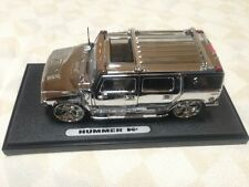 JADA TOY HUMMER H2 HOBBY CHROME PLATINUM LIMITED EDITION COLLECTORS 1:24 DIECAST