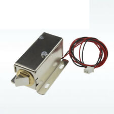12V Cabinet Door Electric Lock Assembly Latch Solenoid for Drawer locker Schloss