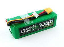 New Multistar 4000mah 10C-20C Lipo 4S 14.8v High Capacity Battery XT60 Xt-60 US