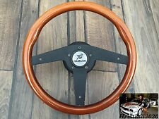 BMW HAMANN Horn Wood Steering Wheel 350MM E31 E32 E34 E36 Z3  Rare