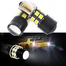 2x Cree R5 1156 BA15S 1141 Car LED Reverse Backup Tail Light Bulbs 10W 7506/1141
