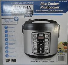 NEW Aroma Professional Plus Rice Cooker and Slow Cooker Model#: ARC-5000