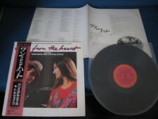 Tom Waits Crystal Gayle One from Heart Japan Vinyl LP w OBI Promo Label Coppora