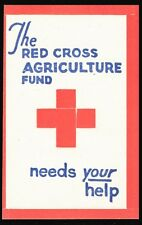 Red Cross unlisted Agriculture Fund - date unknown