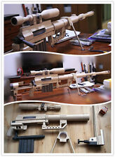 1:1 Scale CheyTac Intervention M-200 Heavy Sniper Rifle Gun DIY Paper Model Kit