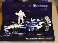 1:43 Juan Pablo Montoya~Williams FW25~MICHELIN-984pcs