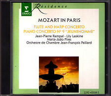 Jean-Pierre RAMPAL Lily LASKINE Maria Joao PIRES MOZART IN PARIS Flute Piano CD