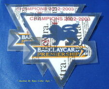Lextra Barclays EPL Manchester United 02-03 Champions Player Issue Armpatches