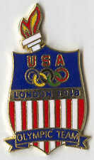 1996 ATLANTA OLYMPIC PIN RENDITION OF TEAM BADGE FROM LONDON 1948