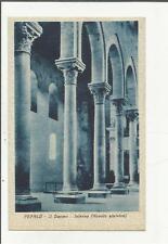83959 ANTICA  CARTOLINA DI CEFALU'  IL DUOMO INTERNO