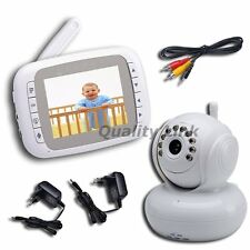 "3.5"" Wireless Baby Monitor Camera Night Vision Pan Tilt PTZ Zoom Video Elderly"