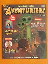 Les Aventuriers. La voix de la peur. N° 12 du 03/1999. Milan Presse