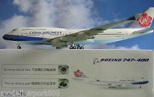 Hogan Wings 1:200 Boeing 747-400 China Airlines LI1066GRMU + Herpa Wings Katalog