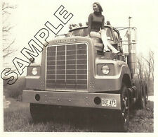 DODGE TRUCK 1975 900 BIG HORN Short Nose PROTOTYPE 8x10 B&W GLOSSY PHOTO