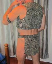 Men's SLAVE COSTUME NWT Gregg Homme Medium/Large Quality Muscle Fit Look! NICE!