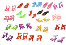 36 SHOES (18 Pairs) fits BARBIE & 12 Inch Fashion Doll