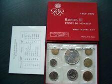 """Kms Monaco 1949-1974 """"Rainer III. de mónaco"""" con plata ORIG. salida/posterior."""