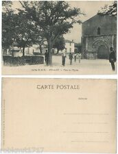 CPA Edition rustique Bergevin Church Place de l'Eglise ARS en RE 17 Ile de 287 R