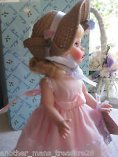 """Madame Alexander 8"""" Wendy Little Southern Miss Blonde Doll - Heirloom Box-LE COA"""
