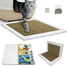 Foldable Claws Clean Cat Scratch Pad Recyclable Scratcher Board Toy Multipurpose