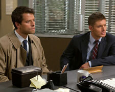 Jensen Ackles & Misha Collins(46247) 8x10 Photo