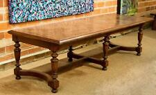 An Italian Renaissance-Style Oak Parquetry Refectory Ta Lot 63186