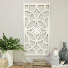 Carved Rectangle Wall Panel/Large 90cm/Sculpture/Decorative Screen Art