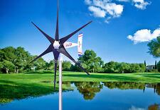1800 W WindZilla PMA 12 V AC 6 Blade Wind Turbine Generator +180A Slip Ring Hub