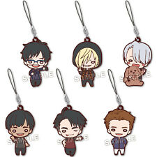 PREORDER - Choose ONE! - Yuri on Ice Nitotan Rubber Strap Mascots