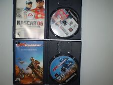 PLAYSTATION 2(2 GAME LOT)MX UNLEASHED NASCAR 06 TOTAL TEAM CONTROL USED UNTESTED