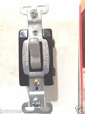 R3 1PC Pass & Seymour Gray COMMERCIAL Toggle Light Switch 15A CS115-GRY