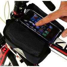 Axiom Smart Touch Tri Bike Bicycle Bag With Touchscreen Cellphone Pocket