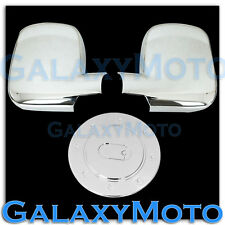03-12 Chevrolet Express+03-12 GMC Savana Van Triple Chrome Mirror+Gas Tank Cover