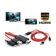 1080P HD TV Cable Adapter  Micro USB to HDMI for CELLPHONE Samsung Galaxy