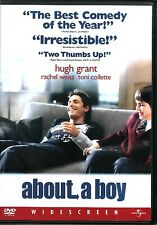 ABOUT A BOY ~ Hugh Grant Nicholas Hoult Rachel Weisz ~ New Never-Played DVD