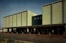 Burbank California USA Color AK ~1960/70 NBC Televisionb Studios Amerika America