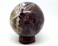 Multi Fluorite Crystal Ball Divination Scrying Omen 58mm 320g Sphere fl5
