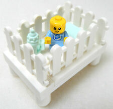 NEW LEGO BABY in CRIB w/Bottle minifigure figure nursery minifig garmadon kid