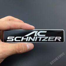 AC SCHNITZER Auto Trunk Rear Sticker Badge Emblems Fit For M3 M4 M5 M6 X1 X3 X5