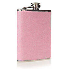8oz Stainless Steel Alcohol Drink Liquor Wine Hip Flask Party Pink Beautiful