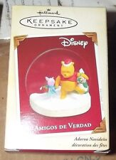 Hallmark Disney Pooh and Piglet Amigos De Verdad ornament