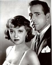 Bette Davis Humphrey Bogart 8x10 photo S0614