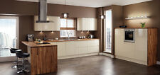 Magnet Planar Italian Cream Gloss Handleless 7 Kitchen Unit £1399 / £1850 FITTED