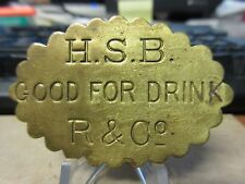 (19thc) R-Ma-Bo-D95 (Rueter & Co.) / Highland Springs Brewery GF a Drink EX RARE