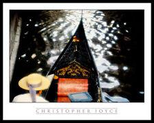 Christoper Joyce Gondola Venedig Gondoliere Poster Kunstdruck mit Alu Rahmen