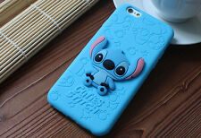 New Cute 3D  Cartoon Disney Silicone Rubber Soft Case  for iPhone 6 6s Plus 5S