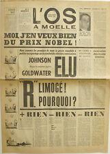 L'Os à Moelle n°28 - 1964 - Prix Nobel - Pierre Dac - Jean Yanne -
