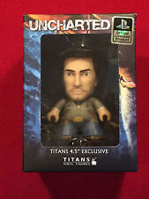 "Uncharted Titans Vinyl Figures 1.5"" Arcade Block Exclusive NEW Nathan Drake"