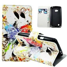 Flip PU Leather Wallet Card Pocket Cell Phone Case Cover For LG L50 Sporty D213N
