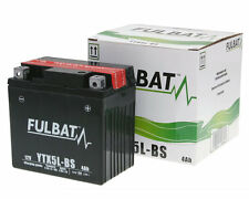 Baotian BTM BT50 BT49QT-9 50cc Speedy 12v YTX5L-BS Battery with Acid For Scooter